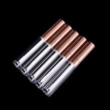 1PC 6ml Quasi Vuoto lip gloss tubo del Mini Bottiglia Riutilizzabile Lipgloss Campione balsamo per le labbra contenitore di bottiglia di Attrezzo di Bellezza regalo delle donne Della Ragazza