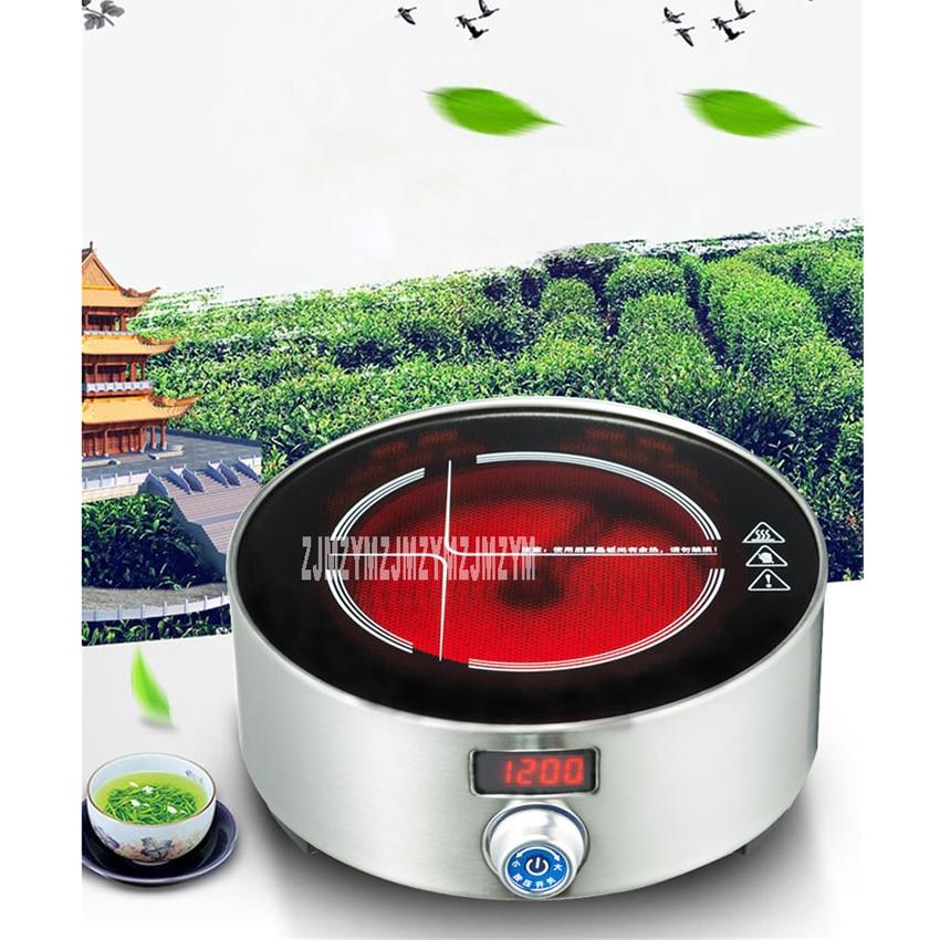 XM-121 Intelligent electric ceramic furnace tea stove household mini small tea oven light oven electric ceramic stove 220V/ 800W wholesale dual dutch piece suit yixing tea tray ceramic ru ding black dragon tea