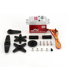 JX PDI-HV7207MG 7KG CNC Metal Steering Digital Metal Gear Coreless Servo with HV High Torq