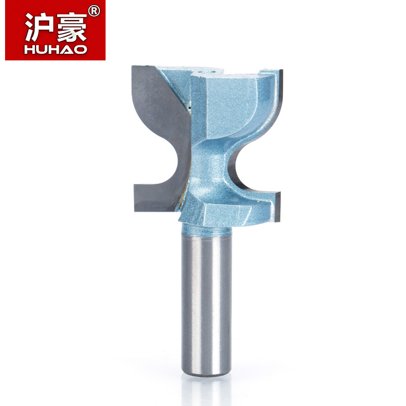 Tools Practical Huhao 1pc 1/2 Shank Router Bits For Wood Industrial Grade Woodworking Table Chair Round Cornor Milling Cutter Carbide Endmill Milling Cutter
