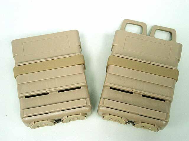 트리플 기어 가방 빠른 잡지 MOLLE Airsoft 빠른 MAG MOLLE 파우치 클립 / 5.56 mm fast mag M4 잡지 파우치 전술