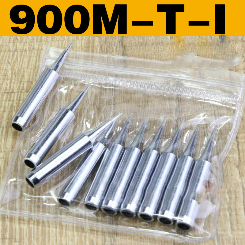 10pcs Replacement Soldering Iron Solder Tips for Hakko Rework Station Tool V8A0