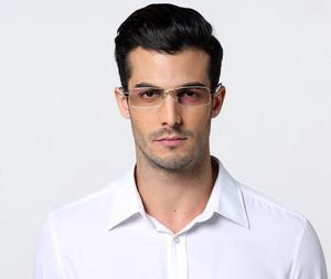 Image 5 - Erkek % 100% Saf Titanyum okuma gözlüğü Yarım Çerçevesiz Okuyucu + 50 + 75 + 100 + 125 + 150 + 175 + 200 + 225 + 250 + 275 + 300 + 325 + 350 + 375