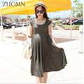 Mulheres grávidas verão elástica dress modelos o neckelastic vestidos gestante roupas de maternidade grávidas yl412 longdress