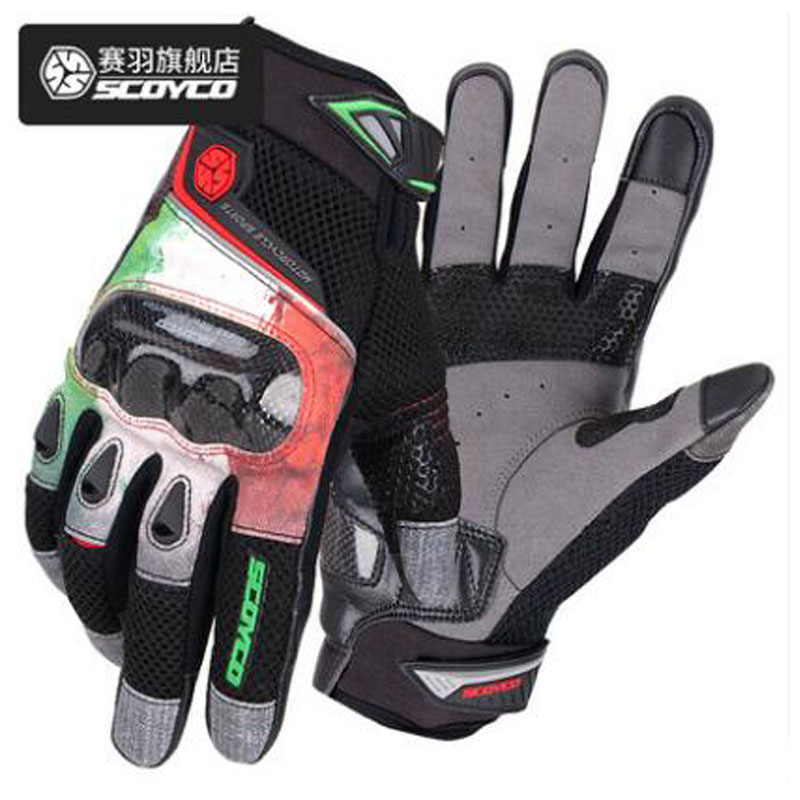 Summer Breathable Touch Screen SCOYCO Motorcycle Riding Gloves Men Anti-fall Knight Full finger Jean glove 2u lengthened chassis 23650 rack type chassis industrial control cabinet you can install the server board