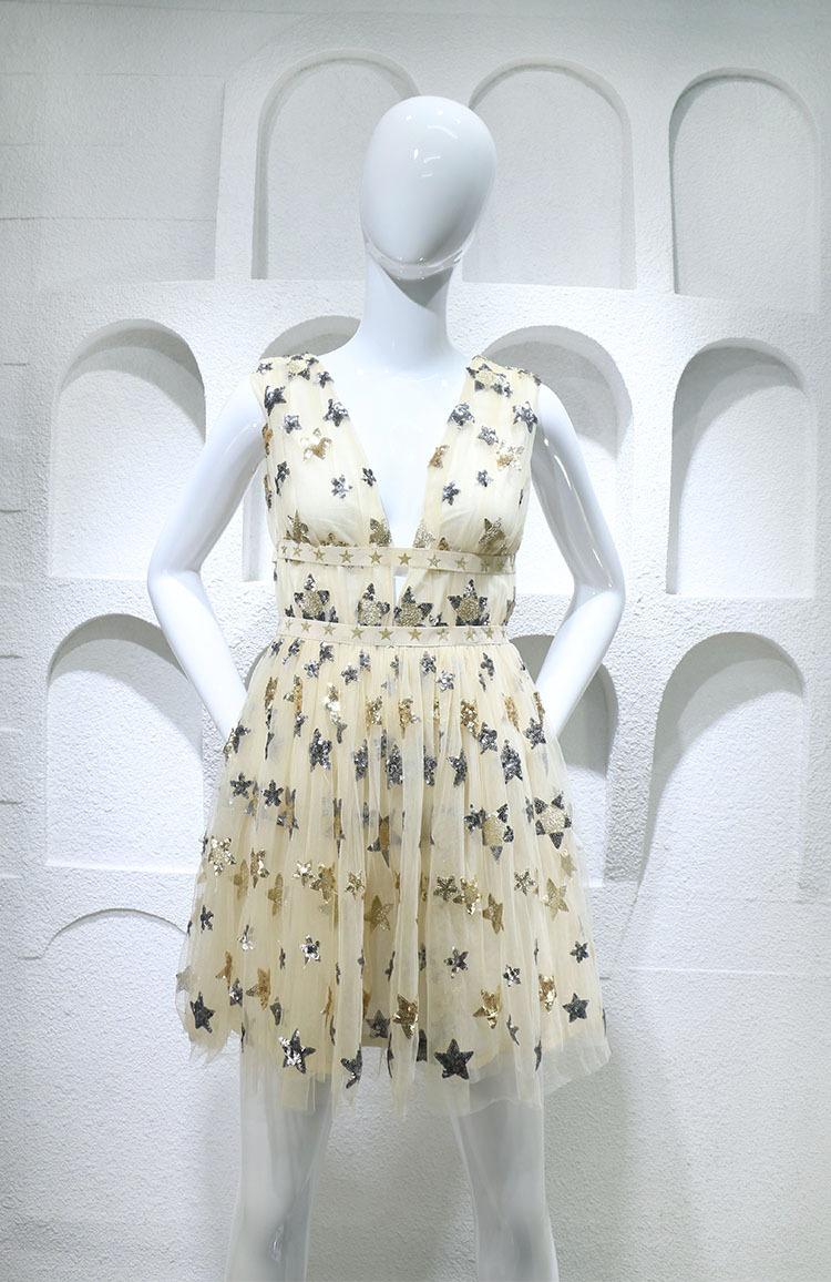 HTB1q3eYPFXXXXa4XXXXq6xXFXXXn - Summer Dress  Star Beads Jacobs Deep V JKP064