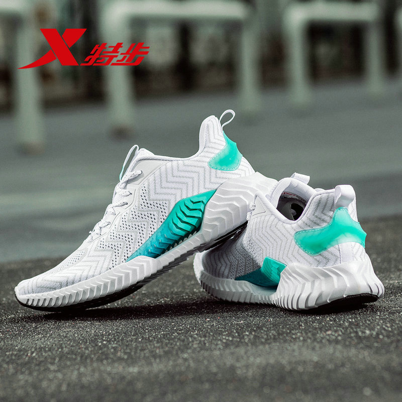 881219119066 XTEP Professional Lightweight Air Mesh Honeycomb Damping Andas Män Sport Sneakers Running Shoes