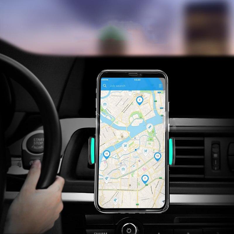 Oppselve автомобильный держатель телефона для iPhone 8X7 6 S Air Vent держатель подставки 360 Вращение мобильного телефона подставка для samsung S9 Xiaomi