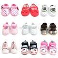 1 Pair Bebê Mocassins Sapatos Rasos Primeiro Walker Sapato Meninos Meninas Marca de Tênis Skid-prova Sapato Infantil New 2015 -- BS27 PT15