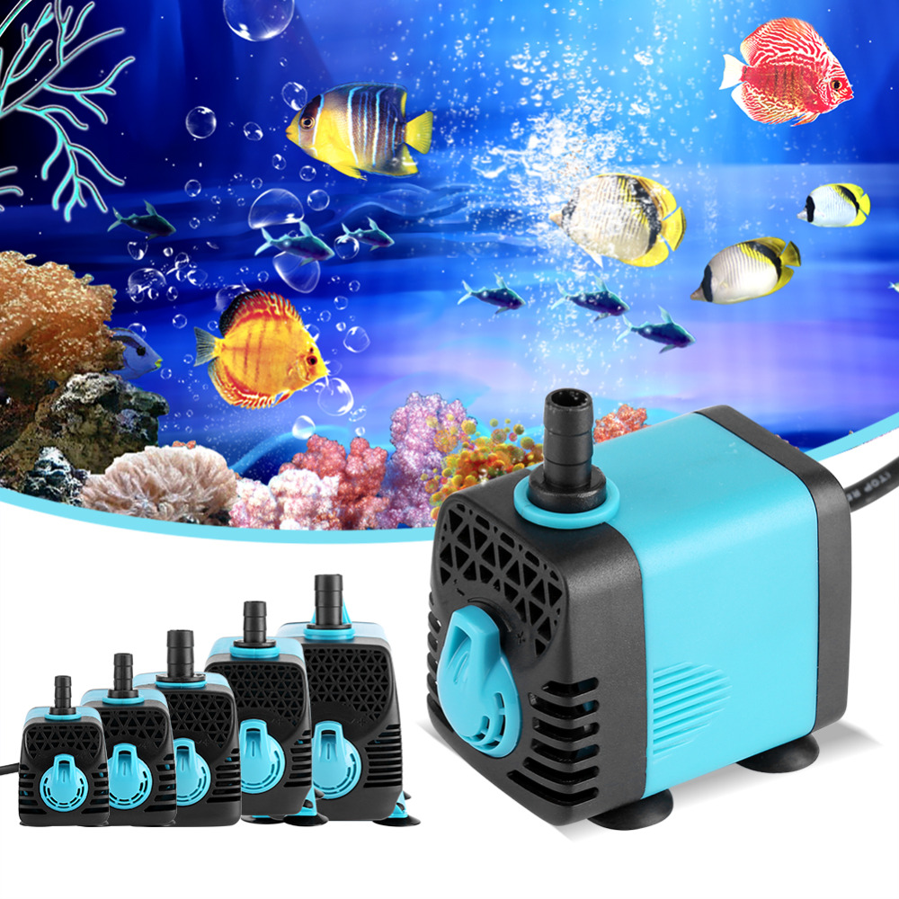 Micro Submersible Water Pump 600-3000L/H Fish Pond Aquarium pressure Tank Fountain 220V Ultra-quiet waterpomp Top Quality.