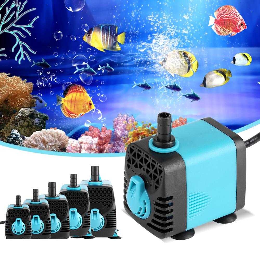 Micro Submersible Water Pump 600-3000L/H Fish Pond Aquarium pressure Tank Fountain 220V Ultra-quiet waterpomp Top Quality.