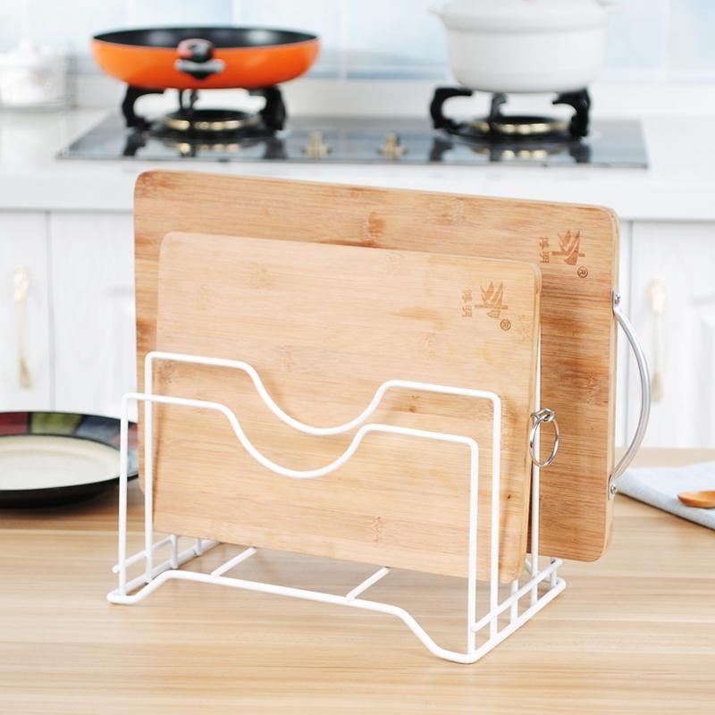 Kitchen Drain Shelf Rack Cutting Board