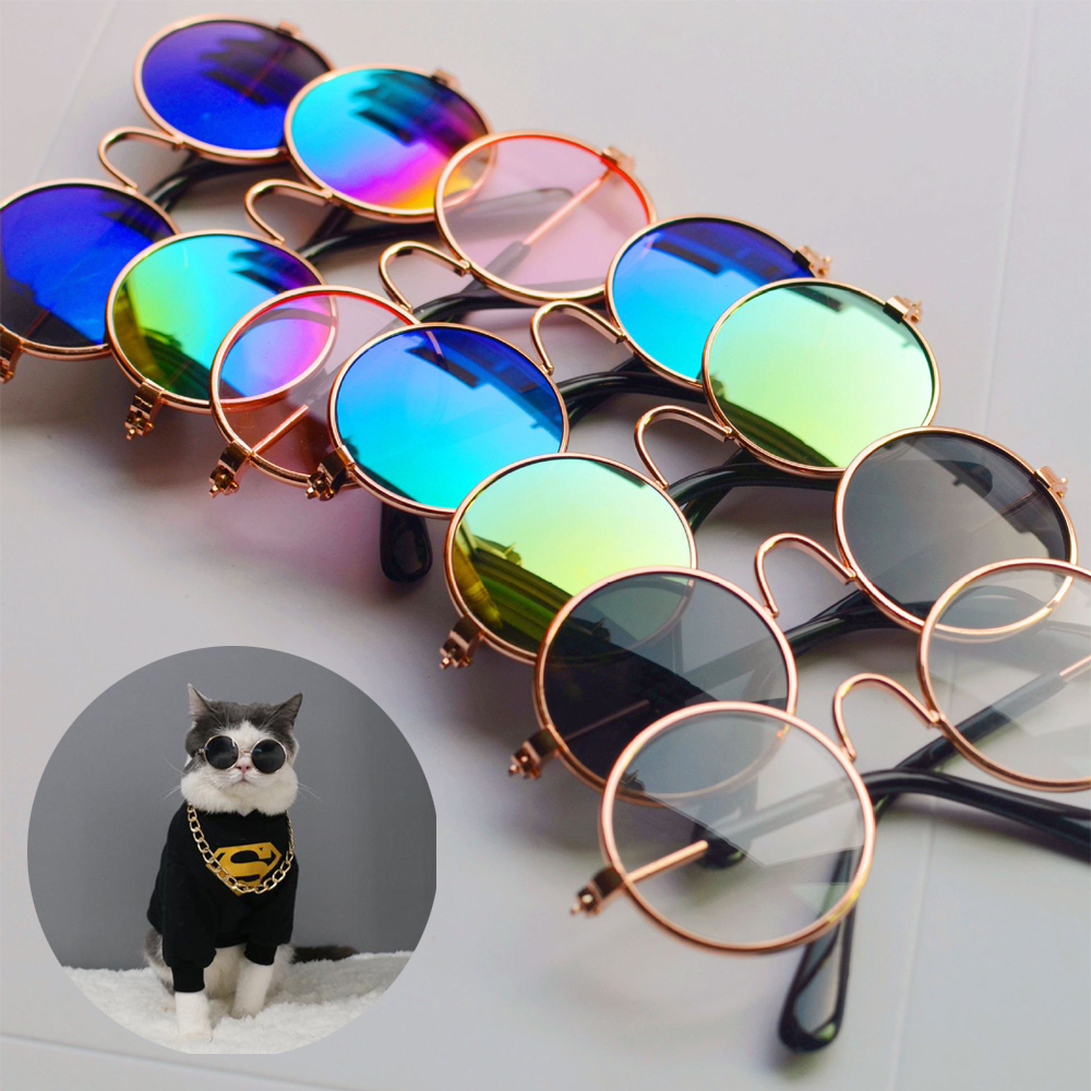 Pet Sunglasses Cat Small Cool Glasses for Eye-wear Dog Accessories Supplies