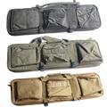 Открытый Airsoft Тактический 85 СМ Двойной Винтовка Сумка с Плечевым Ремнем для M4 Серии Высокой Плотности Нейлон Охота Военный Пистолет Мешок случае