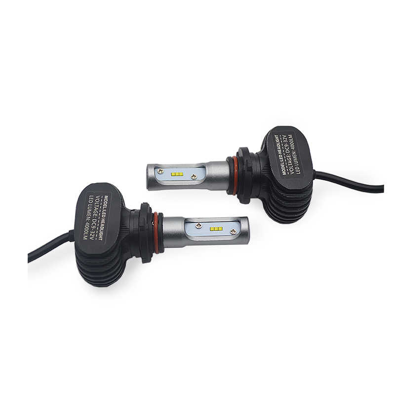 DUU 2 шт. 9005 HB3 9006 HB4 H11 H4 H7 Led H1 авто фары S1 N1 50 Вт 8000LM 6000 K автомобильная лампа со светодиодными кристаллами для Lumileds ла