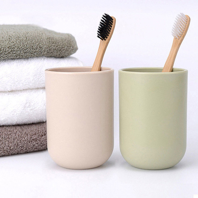 Toothbrush Environmentally Wood Toothbrush Novelty Bamboo Toothbrush Soft-bristle Capitellum Bamboo Fibre Wooden Handle image
