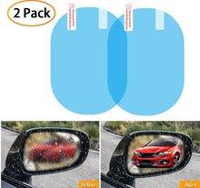 Na sprzedaż naklejka na samochodowe lusterko wsteczne folia przeciwdeszczowa okno przeciwmgielne przezroczyste wodoodporne lusterko wsteczne Nano powłoka przezroczysty ochronny