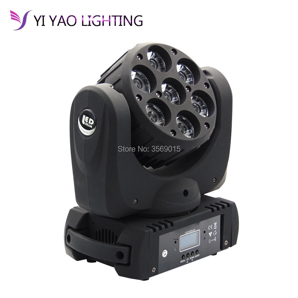 LED Beam Moving Head Light 7x12w RGBW 4in1 Super Bright LED Moving Head light beam dj equipmentsLED Beam Moving Head Light 7x12w RGBW 4in1 Super Bright LED Moving Head light beam dj equipments