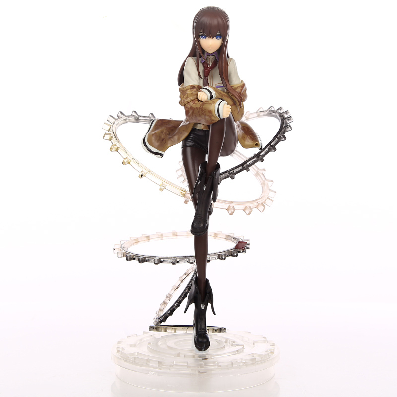 2019 New Anime 21 Cm Steins Gate Makise Kurisu Figure 1/8 Scale Figurine Pvc Action Figure Collection Model Toy Christmas Gifts