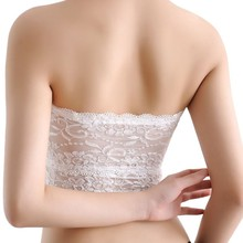 Women's Lace Strapless Top