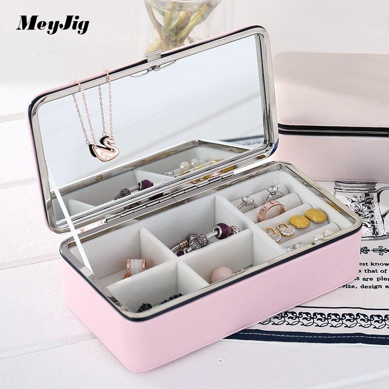Meyjig PU шкіра макіяж футляр переносні - Організація і зберігання в будинку