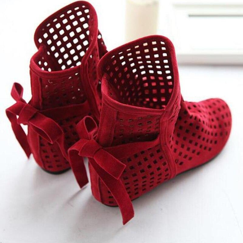 El Exterior Mujeres Romanas En W626 Zapatos gris Encaje Tamaño Gran Negro Agujero Sandalias Después De Verano Comercio Aumentó 43 rojo 40 2017 w4zq7Xxz