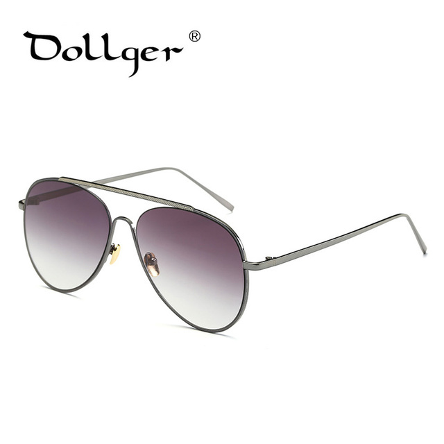 29e69a45f50f Dollger New HD Uv400 Aviator Sunglasses Women Pink Mirror Pilot fashion Sun  Glasses For Women Brand