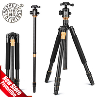 QZSD Beike Q999 Magnesium Aluminium Alloy Tripod Professional Photographic Portable Stand Kit Monopod Ball head For DSLR Camera