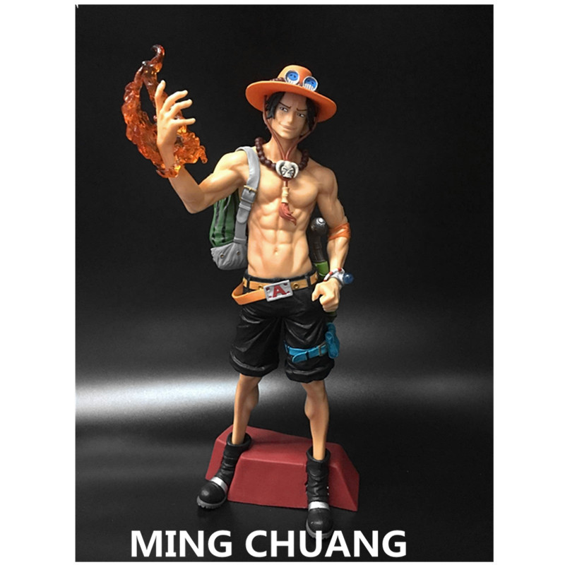 Luffy Stars Portgas D Ace Piece Pvc 30cm Action Figure Collectible Model Toy J249 With The Best Service Toys & Hobbies Ambitious One Piece Super Master Monkey D