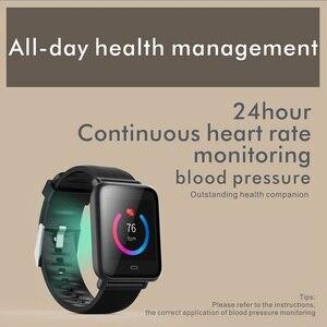 Image 5 - Смарт часы TISHRIC Q9/умные часы для женщин/мужчин/браслет с Bluetooth для часов Apple Android Iphone водонепроницаемые спортивные часы с тонометром