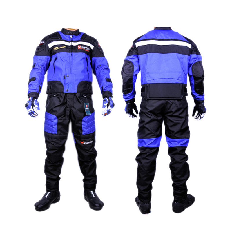 Motorcycle Protection Gear Pads Jacket Pants Moto jackets Off road Racing Cycling Motocross Riding Sport Suits