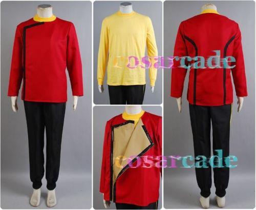 Star Trek II The Wrath of Khan TWOK Monster Maroon Uniform Shirt font b Jacket b