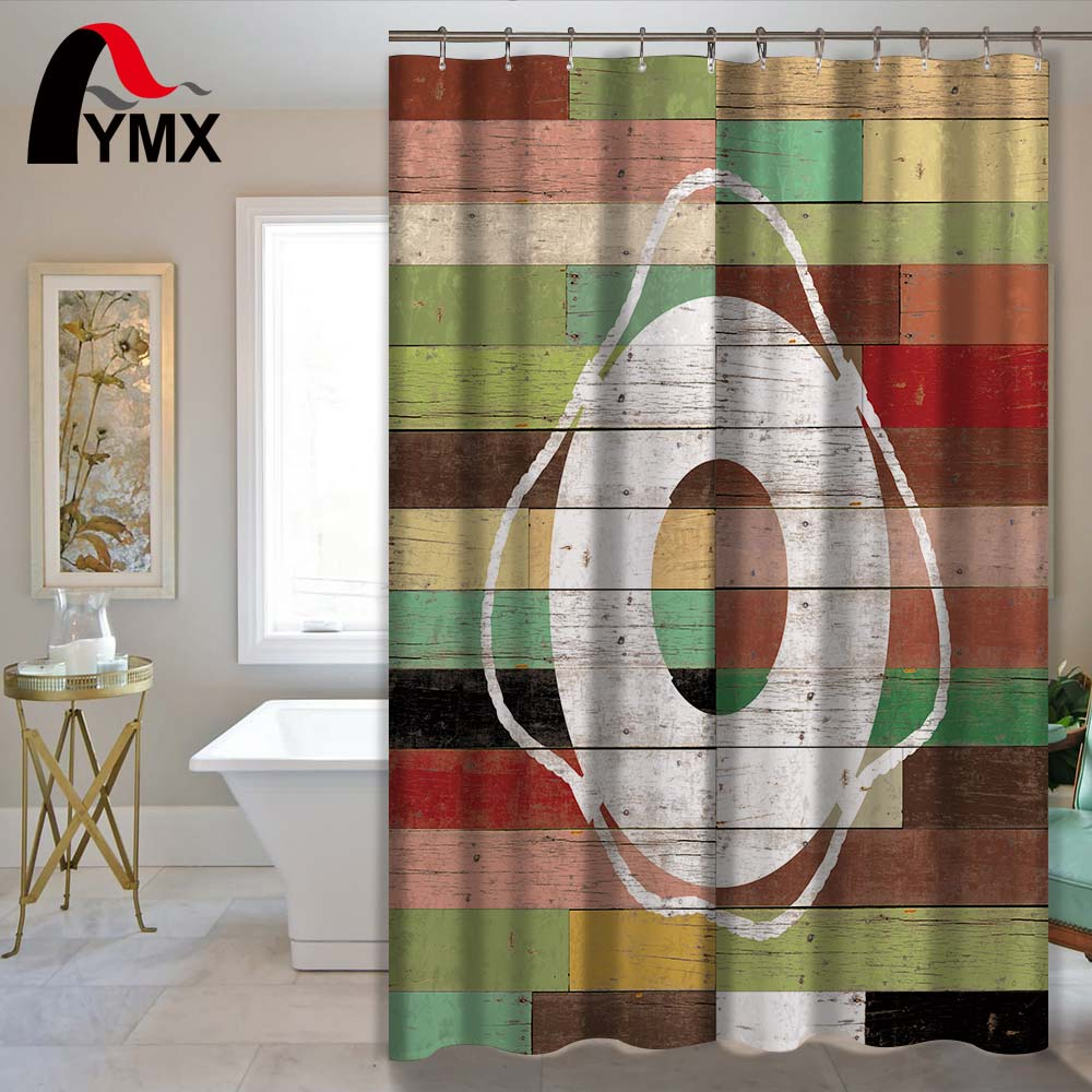 Ship Pattern Waterproof Polyester Fabric Shower Curtain Mediterranean Style Bathroom Decor Home Accessory For 12 Hooks In Curtains From
