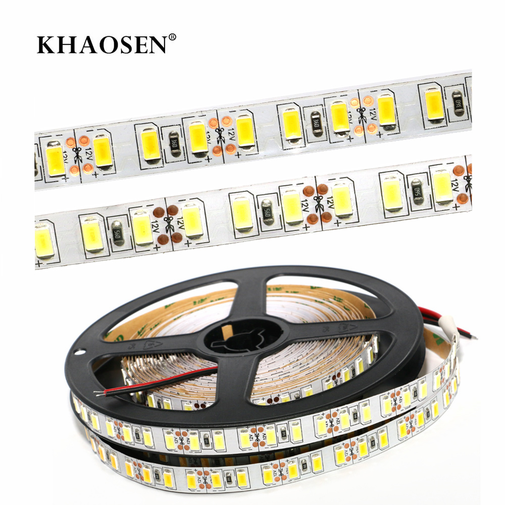 No-waterproof LED Strip Flexible Light 2835 5630 5050 60LEDs/m 5630 5054 120LEDs/m  White/warm White  1m 2m 3m 4m 5m Christmas