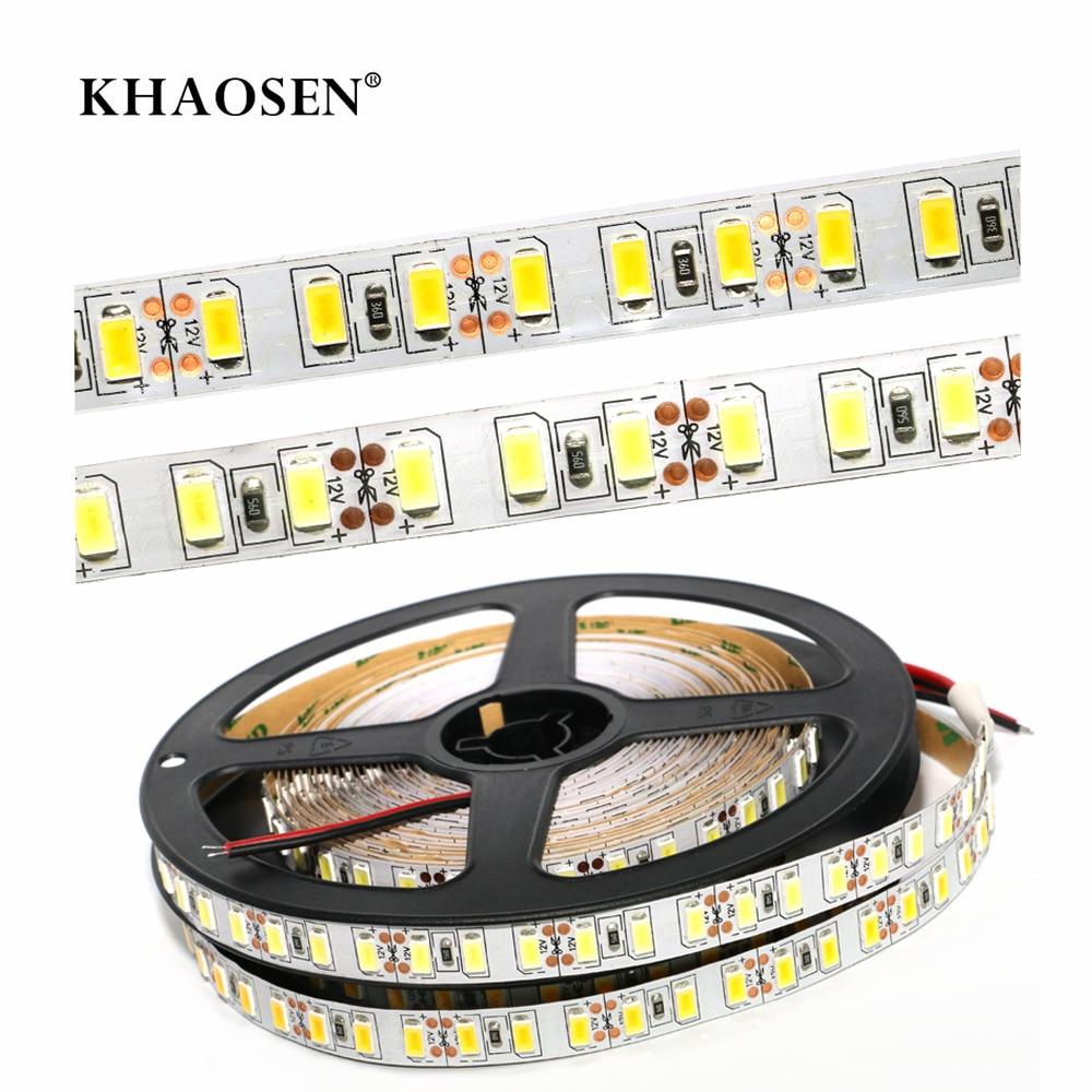 No-waterproof LED Strip Flexible Light 2835 5630 5050 60LEDs/m 5630 5054 120LEDs/m  White/warm White  1m 2m 3m 4m 5m Christmas