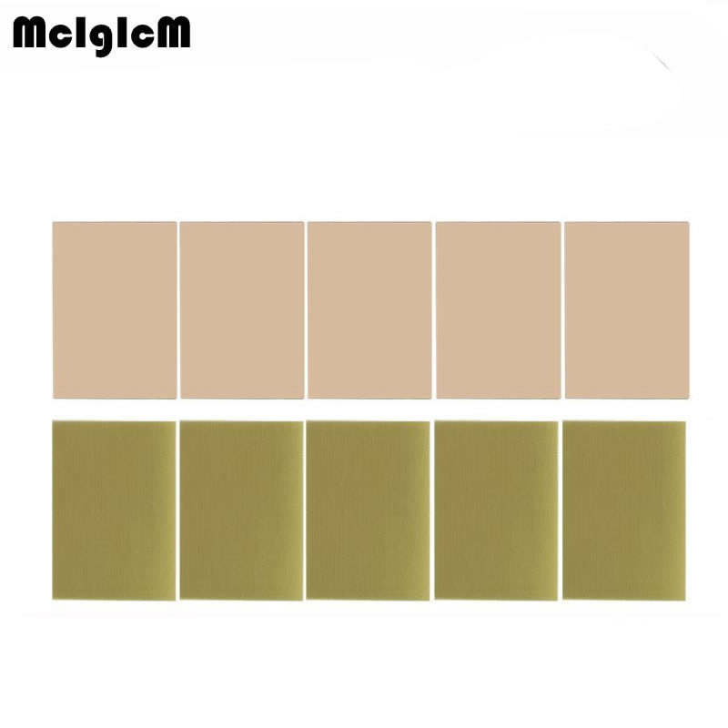 MCIGICM 5 шт. PCB FR4 7*10 односторонняя медная плакированная пластина DIY PCB комплект ламинированная печатная плата 7x10 см