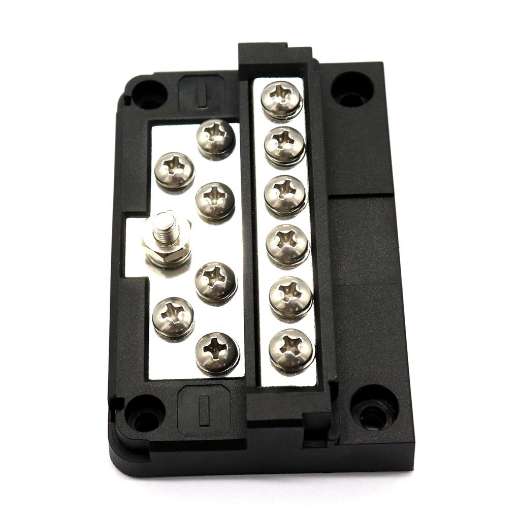 Image 5 - 1 Pcs 12 Way Fuse Box Block Screw Terminal Block Fuses Line Terminal Power Ground DC 32V For Truck RV Coaches Boat-in Marine Hardware from Automobiles & Motorcycles