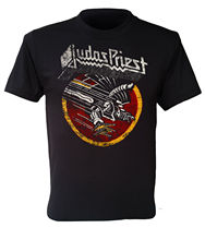Judas Priest T-shirt Screaming for Vengeance UK Heavy Metal Band Black S To 3XL Printed Men T Shirt Short Sleeve Funny цены онлайн
