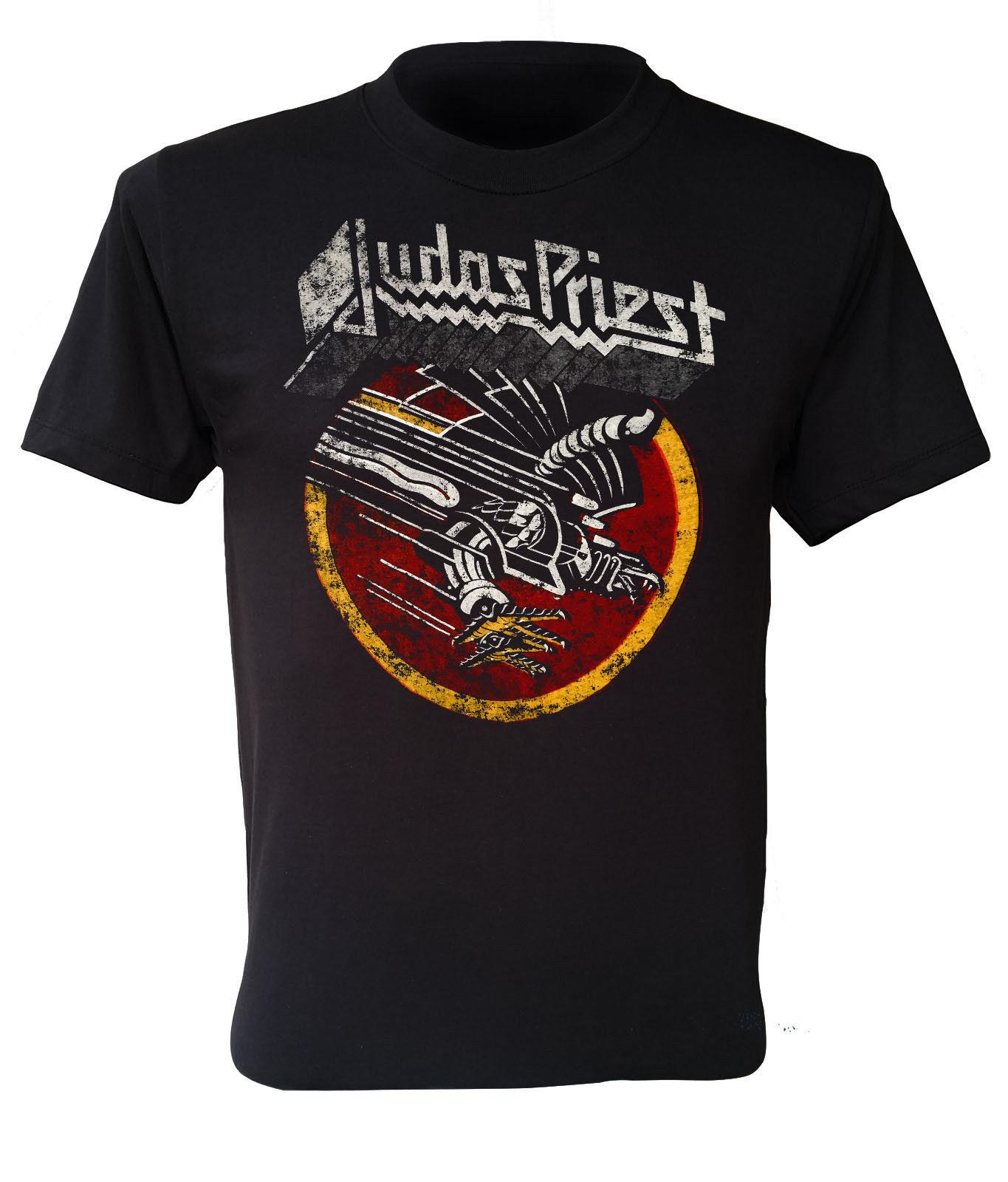 JustinLSullivan Judas Priest T Shirt Youth Shirt Boys Teenager Round Neck Short Sleeve Tee