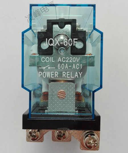 JQX-60F 1Z 60A 220 V AC Bobin Güç Yüksek güç rölesi