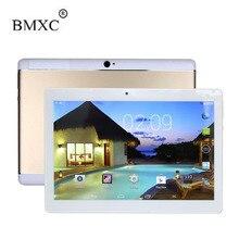 Bmxc 10 дюймов Android 6.0 с защиты случае, 2 ГБ оперативной памяти 32 ГБ хранения dual sim 3 г телефон Tablet PC металлический корпус Дизайн Bluetooth GPS