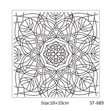 AZSG Line style leaves and flowers Clear Stamps/Seal For DIY Scrapbooking/Card Making/Album Decorative Rubber Stamp Crafts