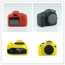 Saco de caixa Da Câmera DSLR Câmera Digital Agradável Suave Borracha de Silicone saco Lente Para Canon 1300D Saco Macio