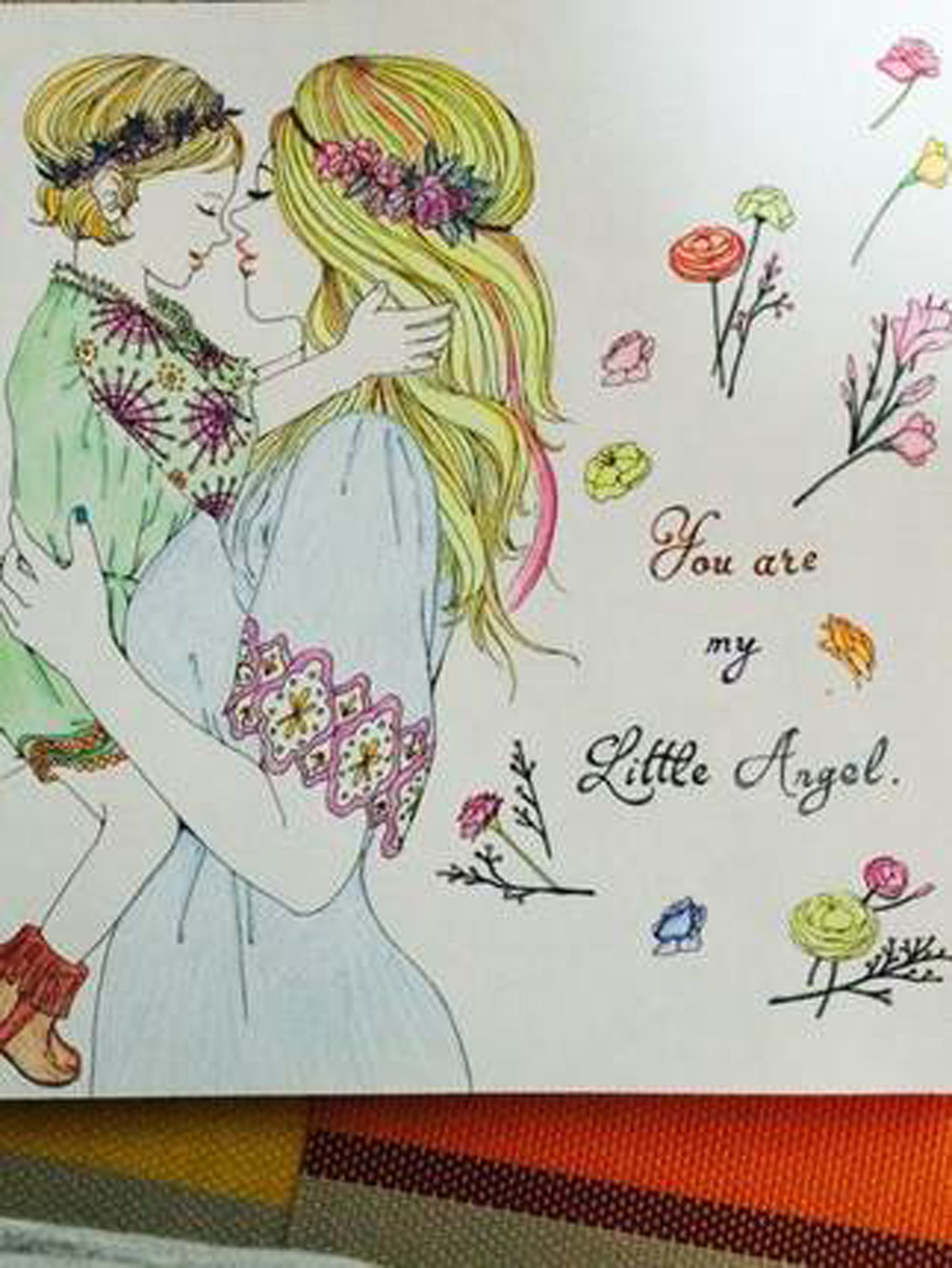 The Creative Coloring Book For Pregnant Woman Relieve Stress Picture Art Painting Drawing Gift Relax Adult Colouring Books In From Office