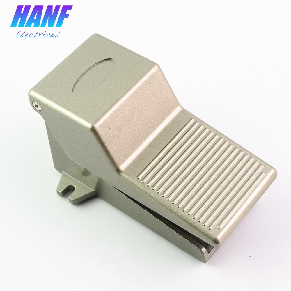 1pcs Aluminium Alloy 1/4 BSP Threaded Air Pneumatic Pedal Valve Foot Switch 5 Way 2 Positions fv320 3 way 2 position 1 4bsp air pneumatic foot operated pedal valve switch