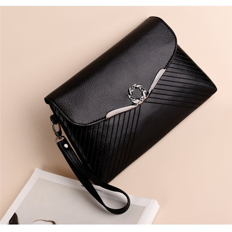Ladies Bag Simple Women PU Handbags Designer Crossbody Bags For Women Clutch Bag Evening Party Shoulder Bags