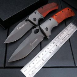 Hot sale da62 folding knife pocket hunting camping diving knife survival outdoor tool knife steel wood.jpg 250x250