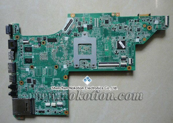все цены на  NOKOTION 595133-001 Laptop motherboard For HP DV6 DV6T With ATI Video Card Mianboard  онлайн