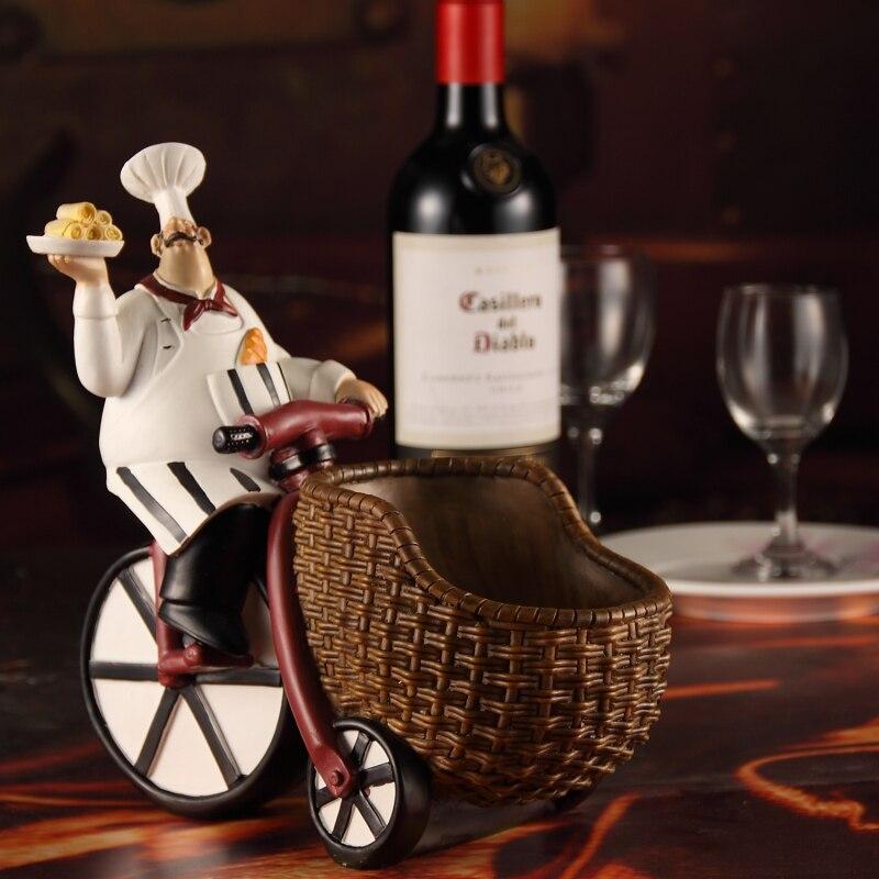 Cremalheira do vinho/Bar restaurante café enfeites criativos/resina Europeia vermelho/vinho De Mesa Mobiliário de Casa decoração sala de estar/z - 2