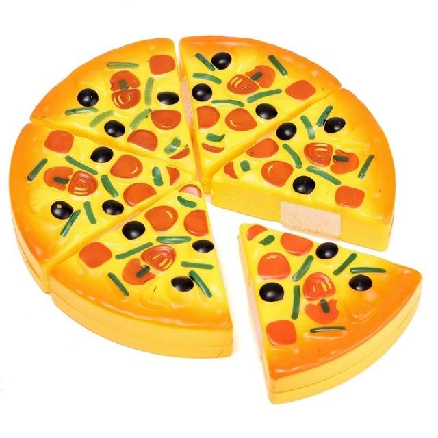 Ninos Cocina Pizza Partido Fast Food Slices Cuter Juegos De